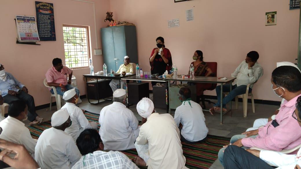 खिर्डी गाव मध्ये मोदी केअर प्रॉडक्ट कंपनीचे नागरिक जागरूकता मोहीम अभियान यशस्वी पणे साजरा..