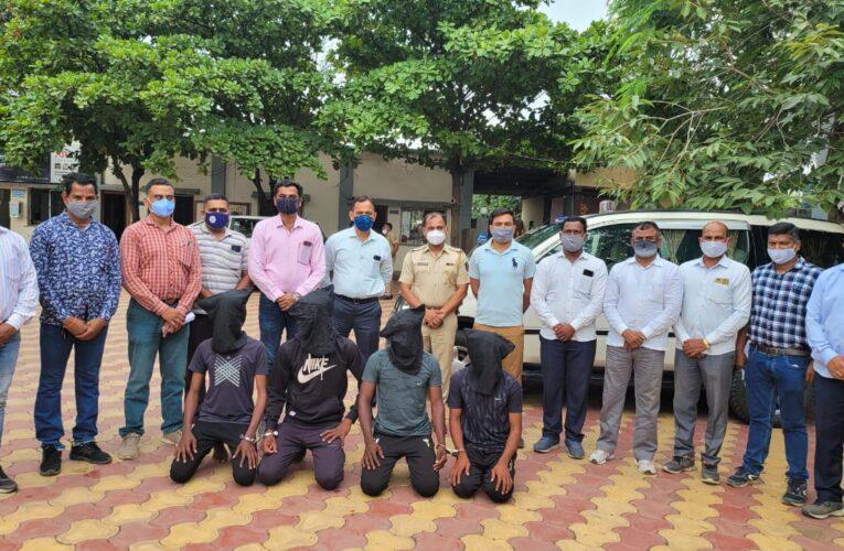 दौंड तालुक्यातील पाटस दुहेरी हत्याकांडातील आरोपी 12 तासाच्या आत जेरबंद पुणे ग्रामीण गुन्हे शाखेचे कामगिरी